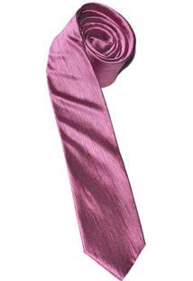 Gravata Horus Pink Slim 4019