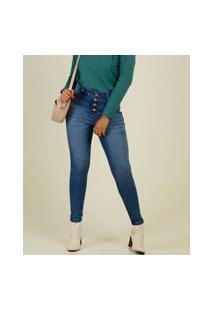 Calça Jeans Stretch Feminina Cigarrete Marisa