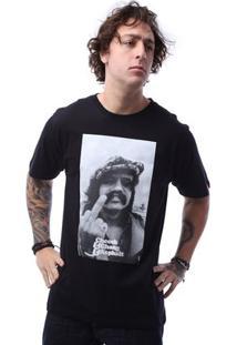 Camiseta Asphalt Mohave Masculina - Masculino-Preto
