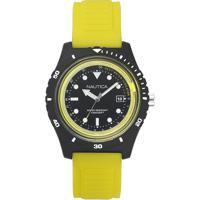 27316719130 Relógio Nautica Masculino Borracha Amarela - Napibz003 Vivara
