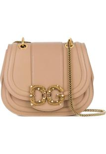 Dolce & Gabbana Bolsa Tiracolo Dg Amore - Neutro