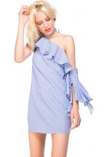 Vestido Estampa Xadrez Vichy