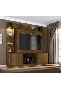 Estante Para Home Theater E Tv 65 Polegadas Atlanta Madeira