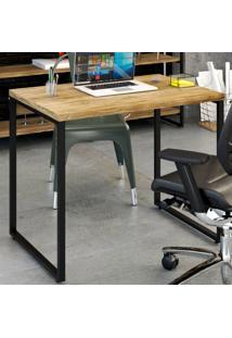Mesa Escrivaninha Office Kuadra Carvalho 8395 - Compace