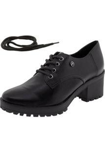 Sapato Feminino Oxford Via Marte - 195806 Preto