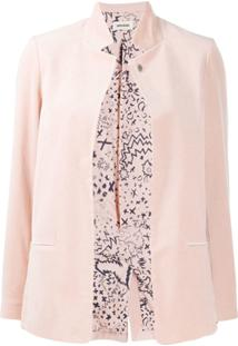 Zadig&Voltaire Volly Velvet Jacket - Rosa