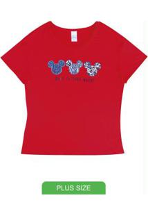 Blusa Com Estampa Animal Print Vermelho