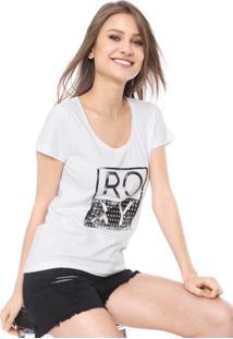 Camiseta Roxy Danve Branca