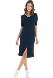 Vestido Azul Mandi feminino  fa8155eafafe7