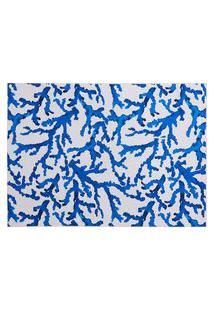 Amaro Feminino Easy Home Design Kit Jogo Americano, Coral Azul