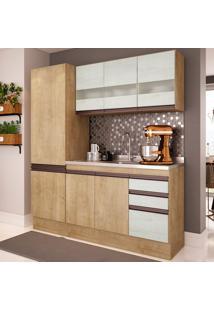 Cozinha Compacta Amália Ii 8 Pt 2 Gv Nogueira E Gelo