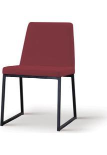 Cadeira Graty Marsala Base Preta - 55862 - Sun House