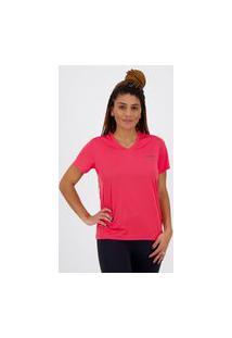 Camiseta Adidas D2M Solid Feminina Rosa