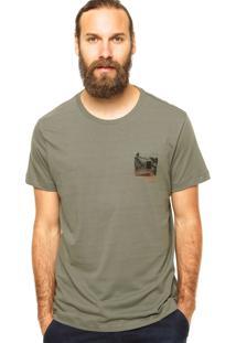 Camiseta Richards Estampa Cinza