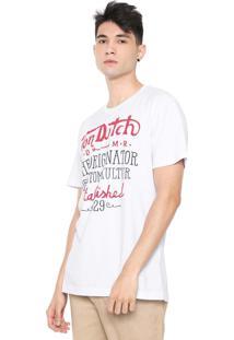 Camiseta Von Dutch Riders Established Branca