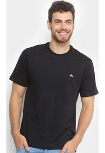 Camiseta Quiksilver Bas Embroyed Basic Masculina - Masculino