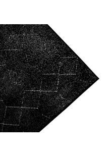 Tapete De Sala Belga Ligno Des 5 - 0,68X1,10M - Edantex - Preto - Dafiti