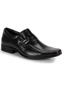 Sapato Social Masculino Jota Pe Air King - Preto