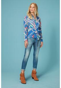 bc32598c81 Malwee Camisa Feminina Adulto Enfim. Ir para a loja  -50% Camisa Feminina  Estampada Adulto Enfim