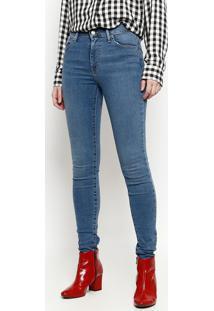 0f91d393312bf ... Jeans 720™ High Rise Super Skinny Com Bigodes - Azul Clalevis