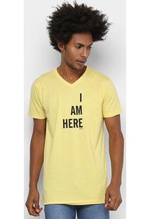 Camiseta Colcci I Am Here Masculina - Masculino