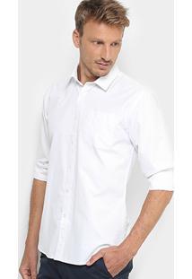 Camisa Social Broken Rules Mini Print Masculina - Masculino