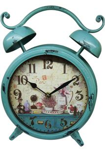 Relógio Kasa Ideia De Mesa Vintage