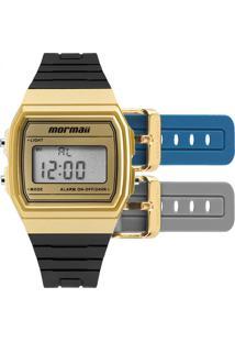 a8d8855c712 E Clock. Relógio Digital Feminino Preto Technos Mormaii ...