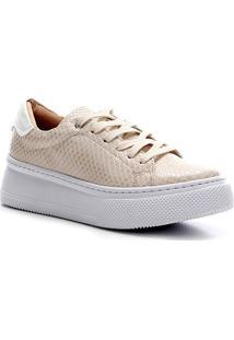 Tênis Shoestock Snake Color Feminino - Feminino-Off White
