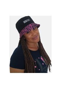 Chapéu Bucket Hats Black Bird Thb 85