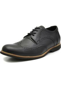 Sapato Oxford Shoes Grand - Masculino-Preto
