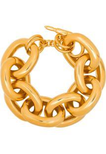 Kenneth Jay Lane Bracelete De Corrente Dourado