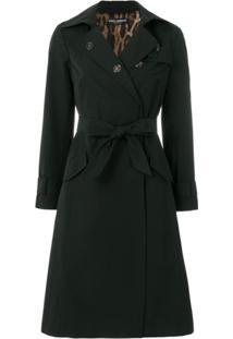 Dolce & Gabbana Trench Coat Sacred Heart - Preto