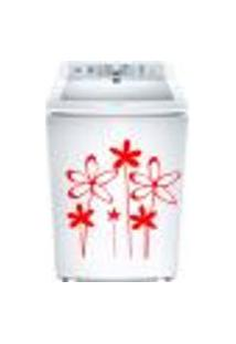 Adesivo Para Maquina De Lavar Floral 2
