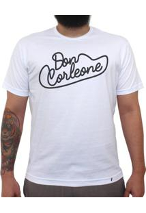 Don Corleone - Camiseta Clássica Masculina