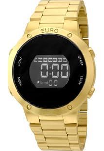 Relógio Euro Fashion Fit Eubj3279Aa/4D Feminino - Feminino-Dourado