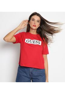 Blusa Guessâ®- Vermelha & Pretaguess