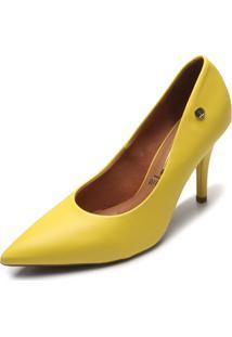 Scarpin Vizzano Fosco Amarelo