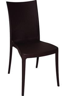 Cadeira Laura Ratan Marrom - Tramontina
