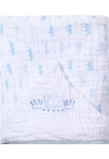 90c5ac2150fb5 Toalha De Banho Azul Vies   Morando Sozinha