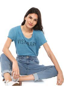 Camiseta Colcci Visionary Azul