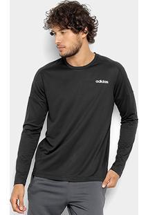 Camiseta Adidas Design 2 Move Manga Longa Masculina - Masculino