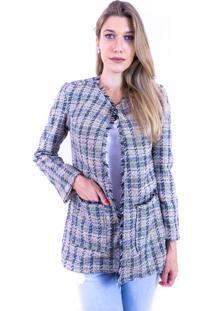 Blazer Mag Deluxe Tweed Colorido