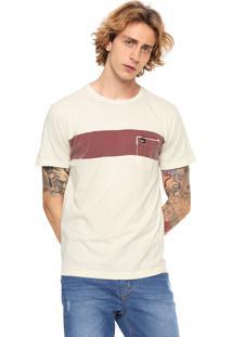 Camiseta Quiksilver New Maxed Amarela