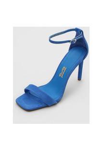 Sandália Santa Lolla Camurça Azul