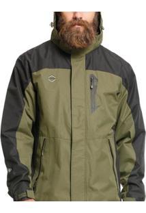 Jaqueta Proteção Térmica Com Capuz Vlcs 18022 Masculina - Masculino-Verde