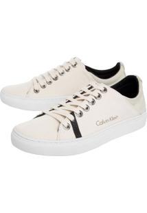 Sapatênis Calvin Klein Off White