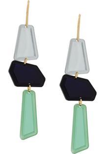 Isabel Marant Totem Earrings - Green