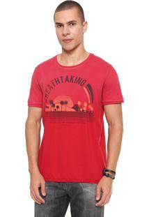 Camiseta Sommer Breathtaking Vermelha