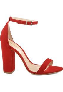 Sandália Gisele Stripe Red   Schutz